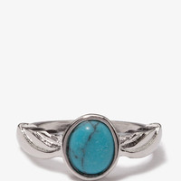 Faux Turquoise Ring