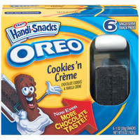 Walmart: Handi-Snacks Oreo Cookies 'N Creme Snack Packs, 6ct