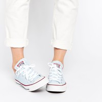 Converse Chuck Taylor Fountain Blue Plimsoll Trainers