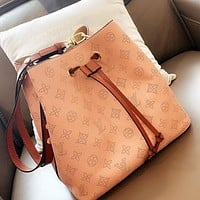 Louis Vuitton LV Women Shopping Bag Bucket Bag Tote Handbag Shoulder Bag Crossbody Satchel