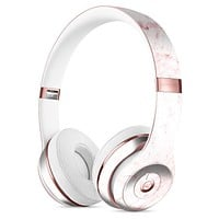 Pink Red Marble Surface Full-Body Skin Kit for the Beats by Dre Headphones