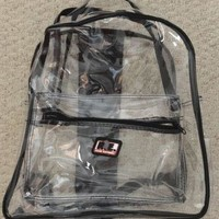 NASCAR Back Pack Clear Racing Electronics
