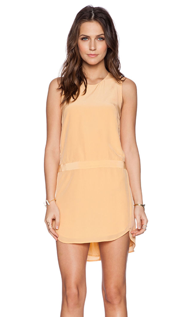 JENNI Sunny Yellow  Lace-TrimmedTank With Adjustable Straps