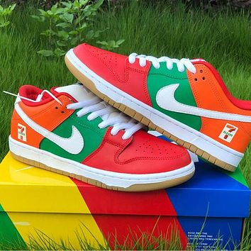 NIKE SB Dunk Low Pro low-top breathable comfortable soft bottom sports running shoes