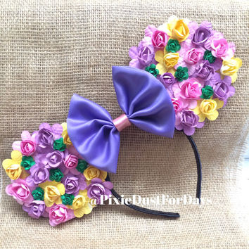 Rapunzel Inspired Mouse Ears