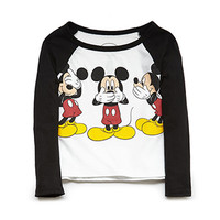 Mickey Mouse Baseball Tee (Kids)