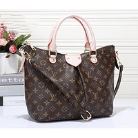 LV Louis Vuitton  Classic Fashion Women Shopping Bag Leather Handbag Tote Crossbody Satchel Shoulder Bag