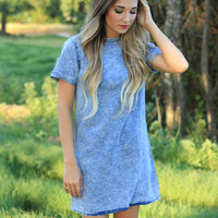 Blue Haze Denim Dress