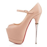 Christian Louboutin Fashion Platform Heels Shoes