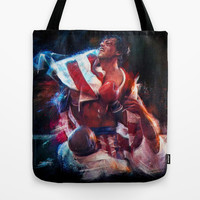 The win of my life is you Adrian! Tote Bag by Emiliano Morciano (Ateyo)