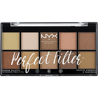 Nyx Cosmetics Golden Hour Perfect Filter Shadow Palette