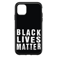 DistinctInk™ OtterBox Symmetry Series Case for Apple iPhone / Samsung Galaxy / Google Pixel - Black Lives Matter
