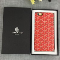 Goyard Fashion Cover Case for iPhone 8 iPhone 8 Plus iPhone X iPhone XS iPhone XS MAX iPhone XR No Box