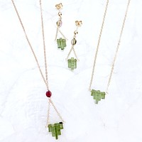 Crystalline Tourmaline Crystal Collection