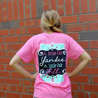 Bit Yankee, Bit Y'all Short Sleeve T-shirt - It's a Girl Thing