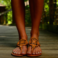 The Trinity Sandal, Camel