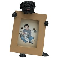 Pug Holding Frame Small Picture Frame