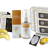 DermaDream Derma Roller Value Bundle - 3 0.2 mm, 3 0.5 mm, 4 1.0 mm, Sonic Brush + Transcendence Vitamin C Serum
