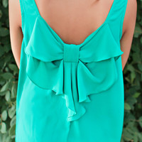 Graceful Moments Tank - Jade