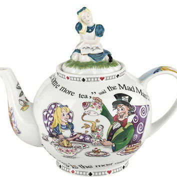Alice in Wonderland 6-CupTeapot