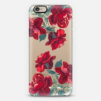 Red Roses (Transparent) iPhone 6 case by Heart of Hearts Designs   Casetify