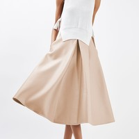 Pleat Front Prom Skirt | Topshop