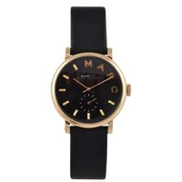 Leather Stainless Steel Watch
