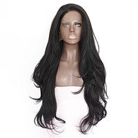 Ella- Natural Wave Heat Resistant Hair  Synthetic Lace Front Wig