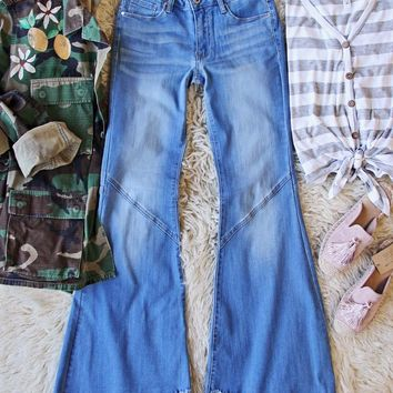 The Flare & Fray Jean
