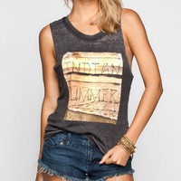 Hurley Indian Summer Womens Muscle Tank Black  In Sizes