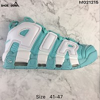 Nike Air More Uptempo White/Mint Sneaker