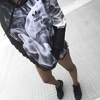 Adidas Women Running Sports Gym Pants Trousers Shorts Top Sweater Hoodie