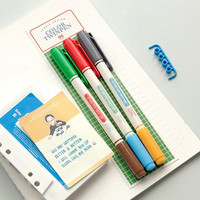 0.4mm / 6 Colors Useful Twin Pens Set / Two ways Pens Set / 10699617