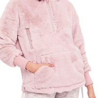 Free People FP Movement Off the Record Soft Fleece Hoodie   Nordstrom