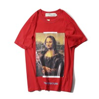 Cheap Women's and men's OFF WHITE t shirt for sale 501965868-008