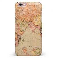 The Western World Map iPhone 6/6s or 6/6s Plus INK-Fuzed Case