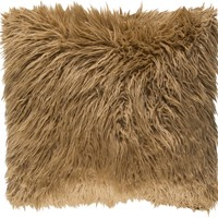 Kharaa Throw Pillow Brown