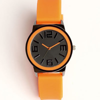 NEON SILICONE WATCH