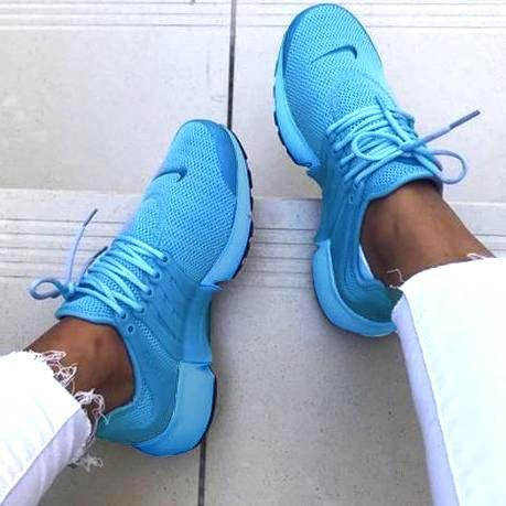 Image of Nike Air Presto Woman Running Sneakers Sport Shoes