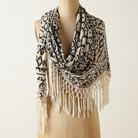 Fringed Gradation Scarf