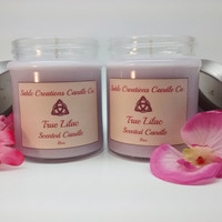 9oz Lilac Candles, Scented Candles, Scented Soy Candles, Scented Soy, Soy Candles, Aromatherapy Candles, Floral Scented, Lilac Scented