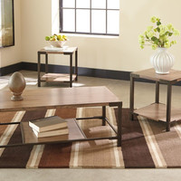 Dexifield Bronze Coffee Table Set