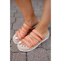 Very G Lindy Sandals (Peach) FINAL SALE