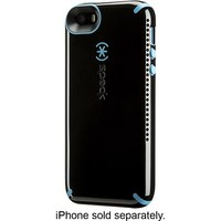 Speck - CandyShell Amped Case for Apple® iPhone® 5 and 5s - Black/Jay Blue
