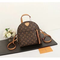 LV Louis Vuitton MONOGRAM CANVAS CLASSIC BACKPACK BAG