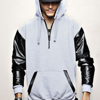 "GREY EXCELLENCE Hoodie ""H"""