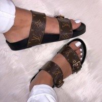 shosouvenir : Louis Vuitton LV  woman/ Men's slippers