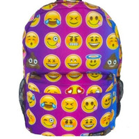Bright Emoji Backpack