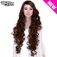 "Cosplay Wigs USA™  Curly 90cm/36"" - Brown Mix -00456"
