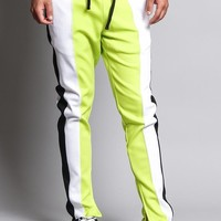 Slim Fit Contrasting Track Pants